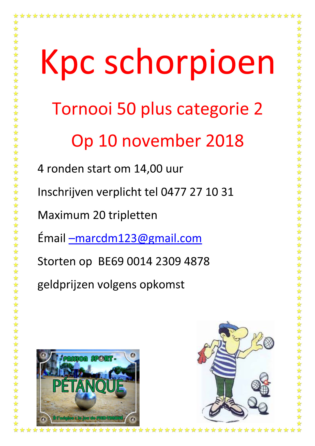 Schorpioen 50plus 10112018
