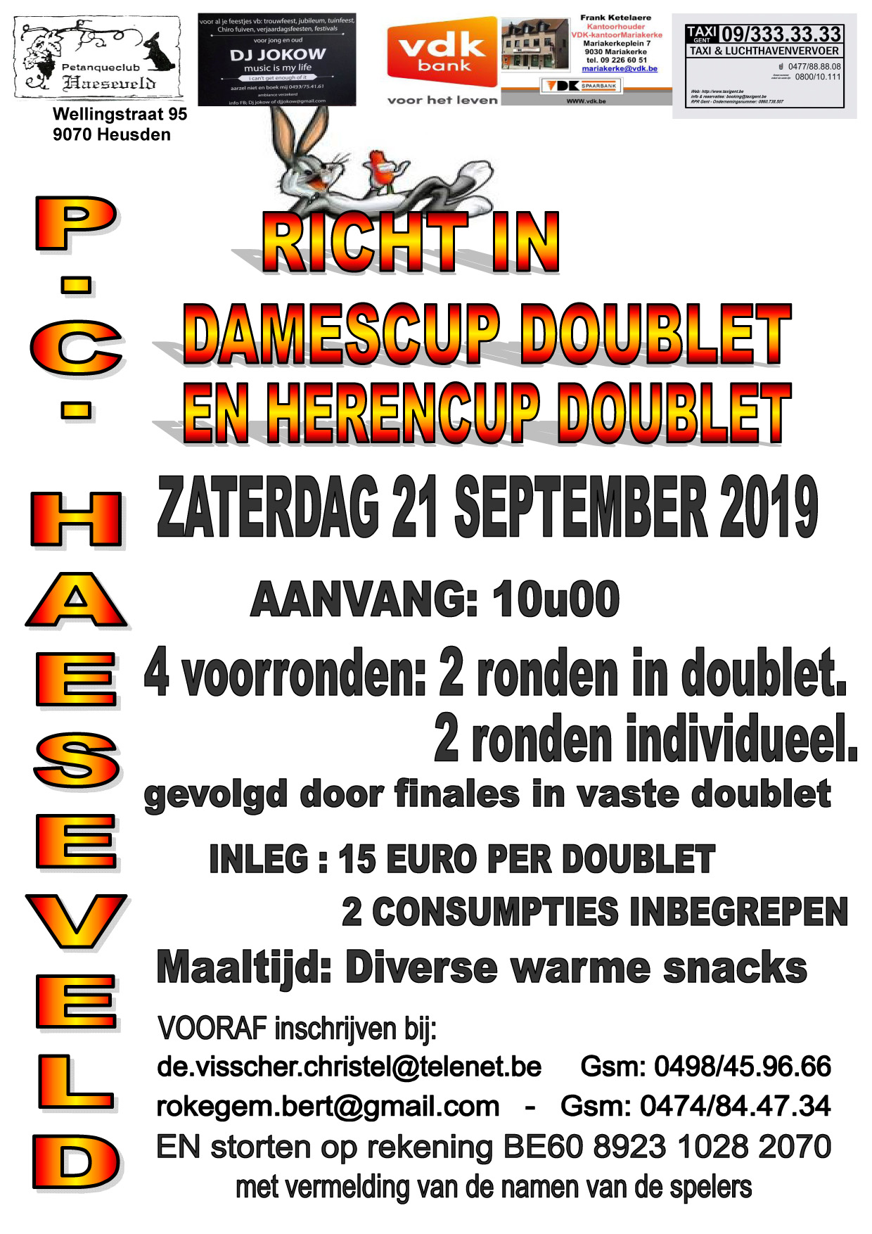 Haeseveld   21092019   Dames  en Herencup doublet