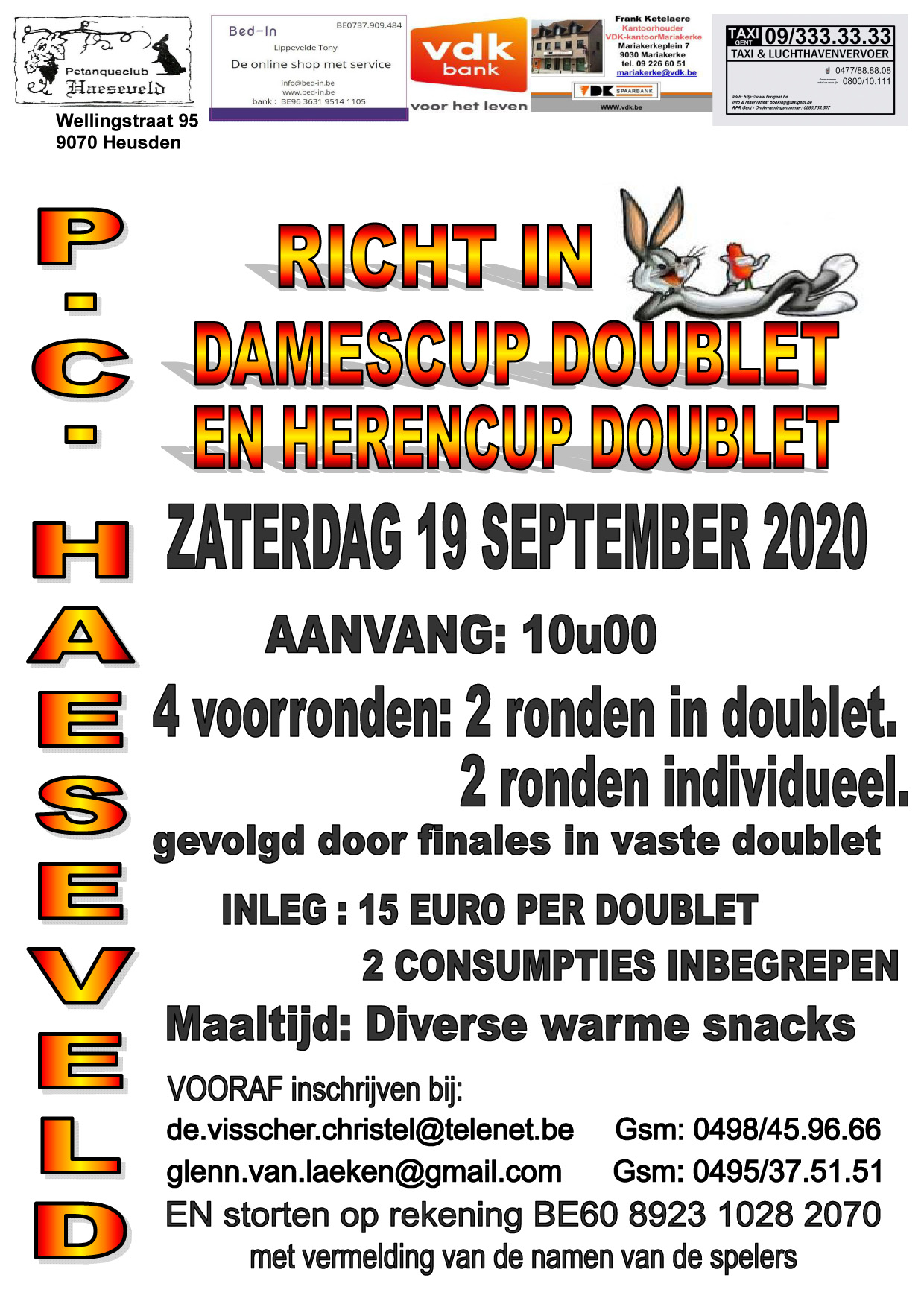 Haeseveld   190920   Dames  en Herencup doublet